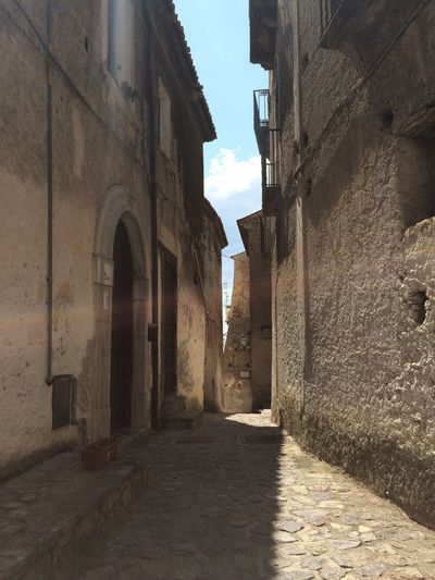 Scalea, Calabria, Italy Ancient Ancient Civilization Architecture Borghipiúbelliditalia Building Exterior Built Structure Calabria Day History Italy No People Outdoors Scalea Sky The Way Forward Travel Destinations