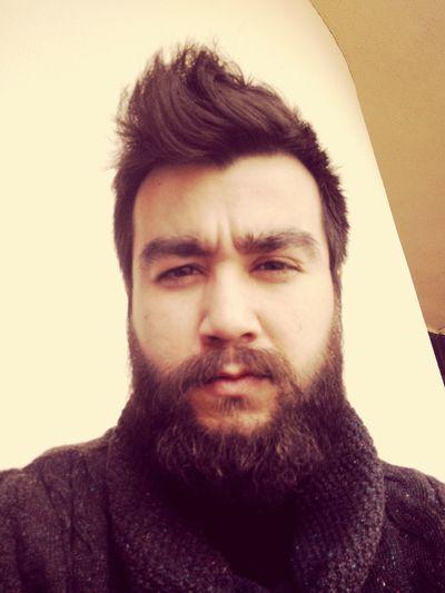 Beard Handsome Hi! ThatsMe Hairstyle Scattered My Face Sleepyhead Izmirlife Yalova ?????