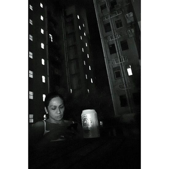 Last of the Tsingtao Nightcap . Tired, broke, happy. :-) TSt