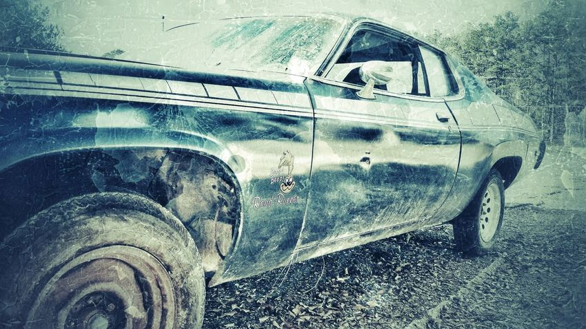 Car Transportation Mode Of Transport Car Door Tire Roadrunner Plymouth 1970s Beep Beep Restoration Project Vintage Vehicles Angled View Vintage Cars Old Car ROAD RUNNER Land Vehicle Vintage Art Retro Film Grain Artistic Photo Snapseed