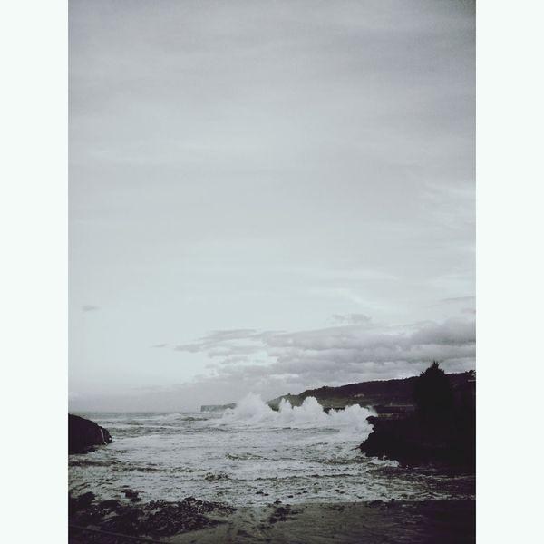 Llanes Temporal Asturias Waves