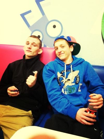 Kyle And I. The Little Bro