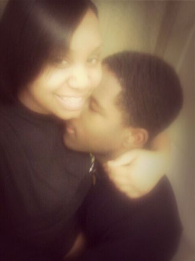 Me & my husband some weeks ago. I love ♥ him! :)