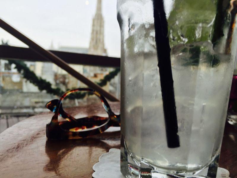 Coctail Glasses Vienna Stephansplatz Glass