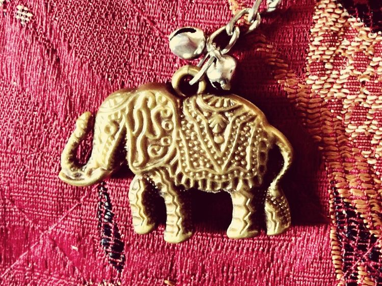 Indoors  Animal Themes Red No People Pink Color Zoology Keychain Elephant