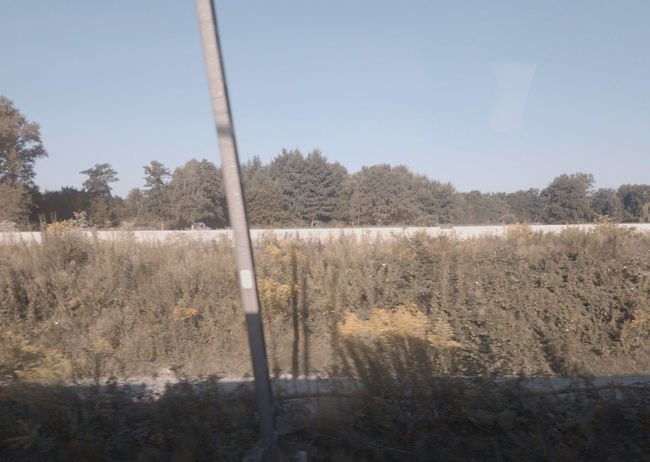 15639 Clear Sky Environment Landscape No People Outdoors Scenics - Nature Tranquil Scene Tranquility View From Train View From Train Window