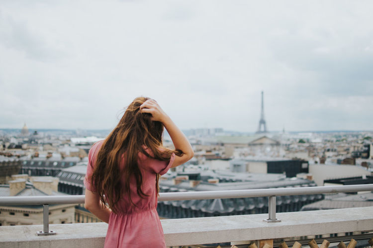 Adult Alone Let's Go. Together. Millenials NOMAD Paris Romantic Solo Traveler! Trip Building Exterior Cityscape Focus On Foreground Hair Nature One Person Outdoors Real People Sky Solo Travel Standing Tourism Travel Travel Destinations Women Young Adult My Best Travel Photo