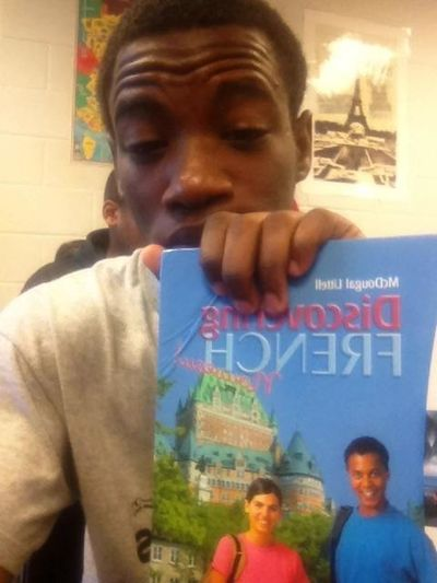 In French Class Bored AF