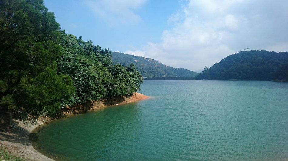 Tree Scenics Sea Water Landscape Beauty In Nature Nature Beach Sky Outdoors No People Mountain Day Reservoir Harmony With Nature Tranquility Nature Of Beauty Nature Hong Kong Shing Mun Reservoir Sky And Sea Environmental Conservation