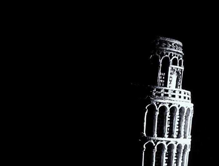 IPhoneography Torredepisa Pisa Tower Blackandwhite