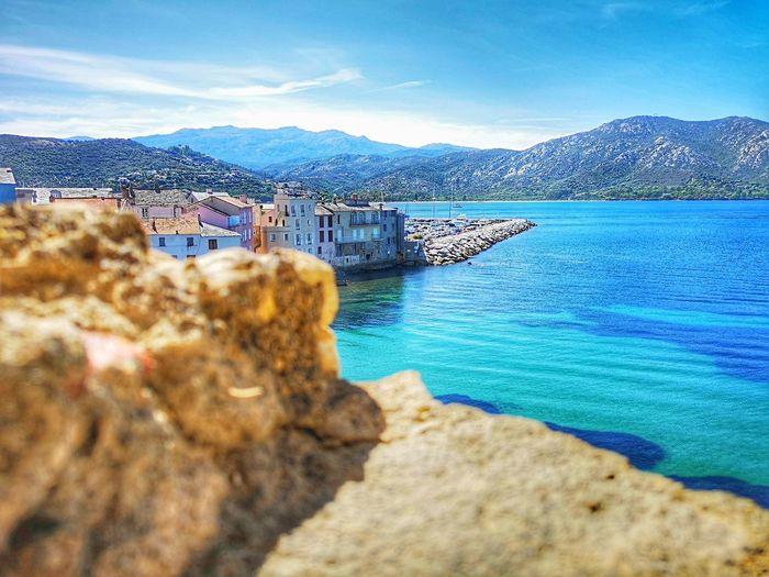 Corse View Blue