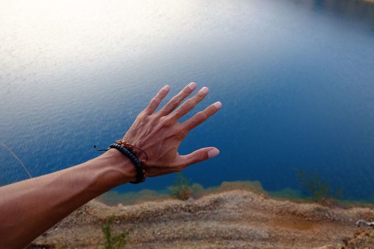 untouchless Human Hand Human Body Part Human Finger Hand Human Arm Palm People Close-up Day Nature Water One Person EyeEmNewHere