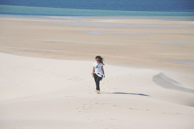 Dal mare al deserto Relaxing Ocean View Atlantic Ocean Girl Ocean Dakhla Wind Sea Sun Soleil Sol Soleil☀️ Sole African Beauty Africa Laguna Ladunablanca