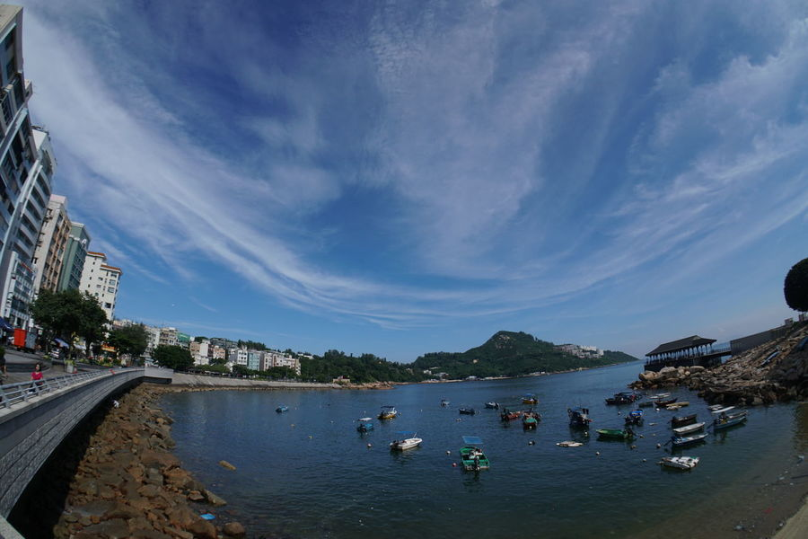 Water Vacations Cloud - Sky Outdoors Summer Travel Destinations Day No People Sky Hong Kong Island Hong Kong Stanley 赤柱 香港旅行 香港 The Great Outdoors - 2018 EyeEm Awards