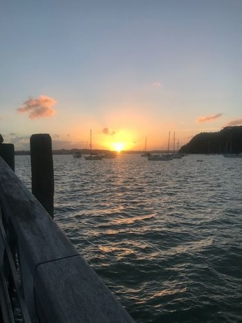 Bay of Islands sun set Sky Sunset Water Sea Beauty In Nature Scenics - Nature Nature