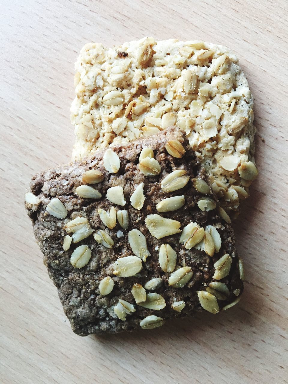 food and drink, food, table, no people, healthy eating, freshness, indoors, close-up, wood - material, sweet food, ready-to-eat, protein bar, oat flake, day