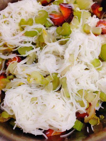 365 Photos In 2015 Vegan Rice Noodle  Celery Carrots Food Vegetarian Vegetarian Food