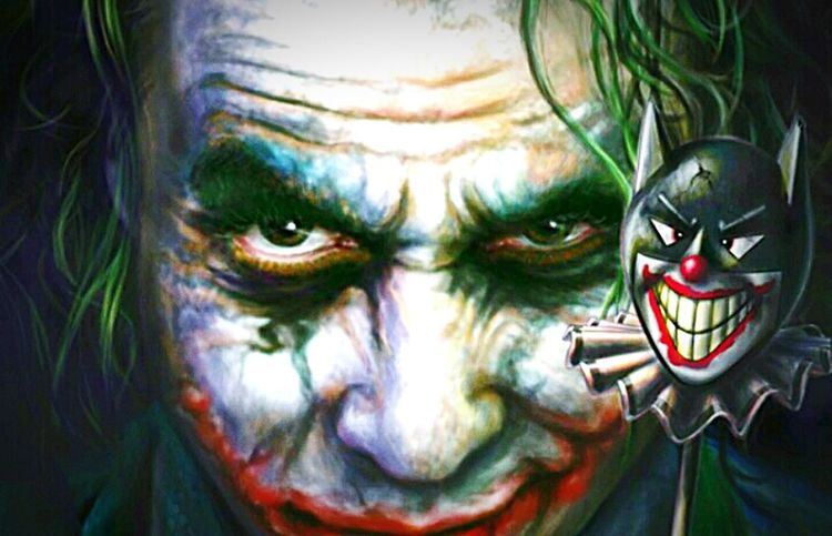 The Joker Face Jokerdrawing Comic Art Comiccon Batman Vs Joker Drawings Made By My Friends Digital Painting Createaface This Is Not A Photo Bored As Fuck