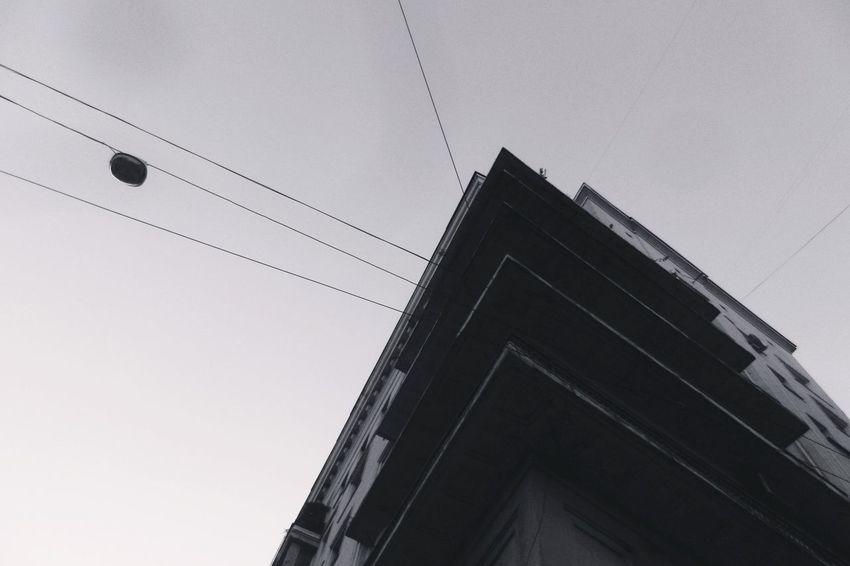 Minimalism Bulding Out Arhitecture Monochrome