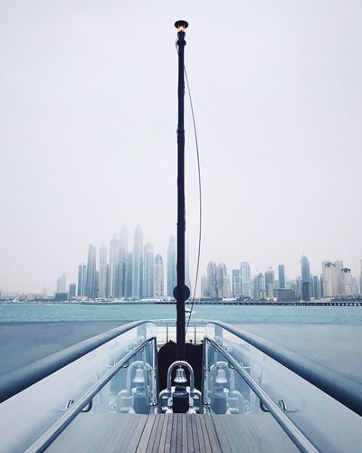 Boat Boating Skyscraper Cityscape Ahead Future Mindfulness Urban Skyline Yacht Yachting Love Sail Sailing Ocean Water