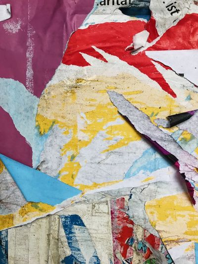 Multi Colored Backgrounds Paper No People Architecture Close-up Full Frame Day Outdoors Street Germany Textured  Vibrant Color Abstract Built Structure Berlin Berlin Photography Berliner Ansichten