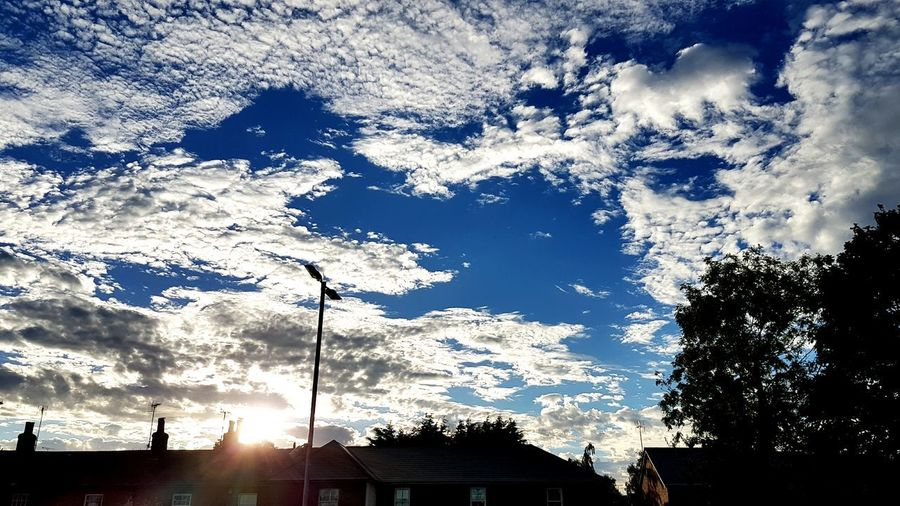 The sky in