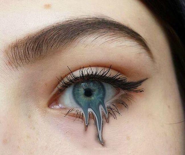 Beauty Eye Blew Sad Katya_1lee