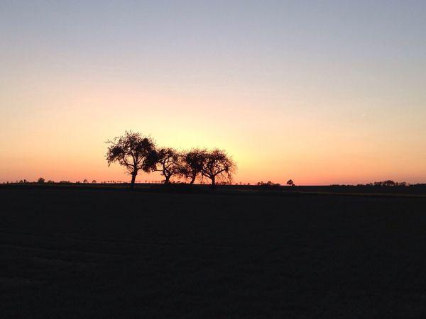 Abendrot im schönen Hunsrück Sunset Abendrot Hunsrück