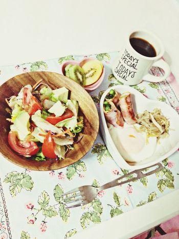 もーにん! Good Morning Coffee Break Having Breakfast Enjoying Life