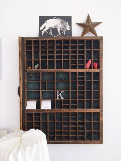 HELLO old typography case Wall Homesweethome Linotype Setzkasten Decor Vintage Typical Letterpress Interior Decorating Interior Design No People Indoors  Day Animal Themes