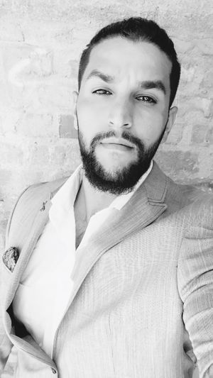 Beard Young Men One Person Young Adult Real People Facial Hair Looking At Camera