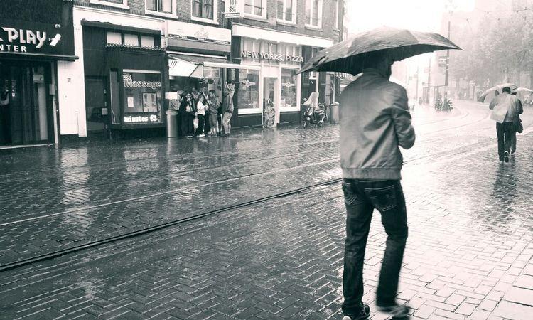 Blackandwhite Streetphoto_bw Amsterdam Monochrome