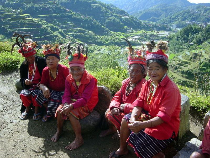Simple Life Island Life Mountain Province Filipino Ifugao Banaue