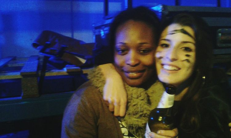 Me And My Friend Drunk Nights Magazine Black And White Delirio Tekno Party Hard Fiesta Crazy Moments Girls