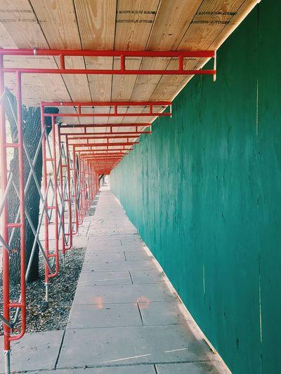 Corrugated Iron Sheet Metal Street Art Mural Footbridge Fresco Closed Hip Hop