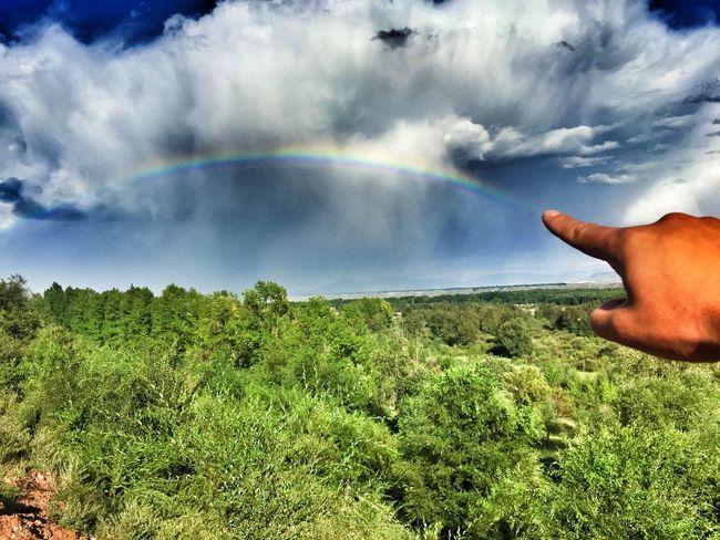 画一道彩虹给你