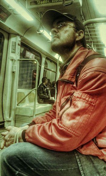 Streetphotography People Watching Stassenbahn Taking Photos U-Bahn Notes From The Underground