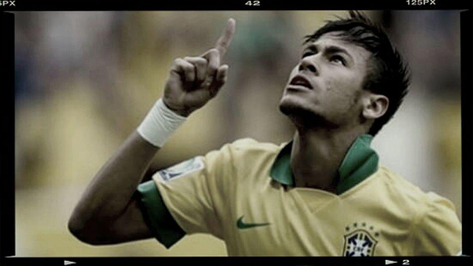 2014.06.29 (0:00~3:00a.m.)十六強第一戰就這麼緊張,感謝上帝站在巴西這邊!Fifa 2014 Neymar Jr My Hero