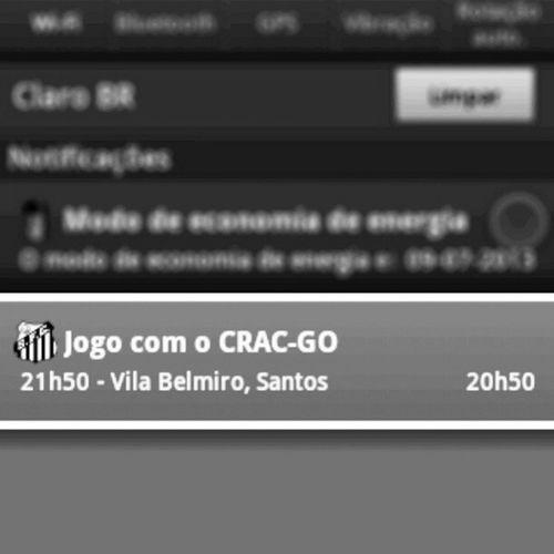 Hoje tem show em campo *--* Jogo Santos Crac Copa do brasil hoje santosmeuamor santosminhavida santosfc