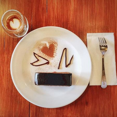 Espressomachiato ChocolateParfait Nakedespresso Such a good combination.