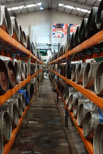 Beer Cains Brewery Cask Casks Diminishing Perspective In A Row Liverpool Liverpool Spring Beer Festival No People Real Ale Vanishing Point