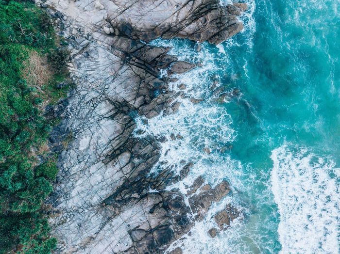 Full Frame No People Backgrounds Day Blue Water Close-up Pattern Pool Swimming Pool Outdoors High Angle View Motion Textured  Abstract Nature Sport Turquoise Colored Sea
