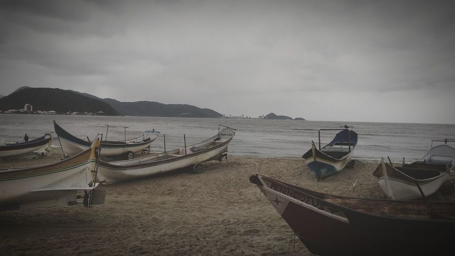 Guaratuba-PR Guarachuva Nautical Vessel Water Beach Sea Fishing Net
