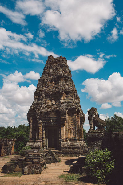 Siem Reap Cambodia Angkor History The Past Architecture Cloud - Sky Built Structure Sky Ancient Religion Place Of Worship Belief Travel Travel Destinations Tourism Building Exterior Building Ancient Civilization Old Ruin Day Nature No People Archaeology Outdoors Ruined
