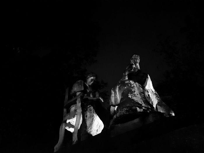 Sculpture EyeEm Best Shots - Black + White Black & White Blackandwhite Black And White Monochrome Night