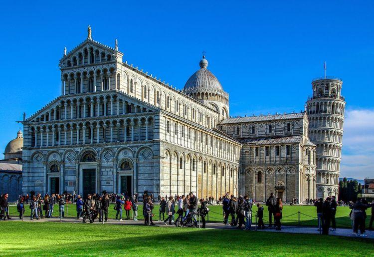 Pisa, Italy Architecture Building Exterior Travel Destinations Travel Tourism History Outdoors Landmark Cityscape UNESCO World Heritage Site