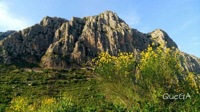 Montserrat Mountain. EyeEm Nature Lover Landscape Paisaje Natural Paisatges Catalans Nature_collection Landscape_Collection EyeEm Landscape Mountains And Sky No Edit/no Filter