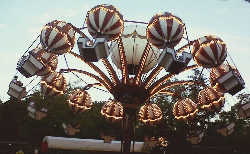 Funfair Hot-air Balloon Lights Fun Time
