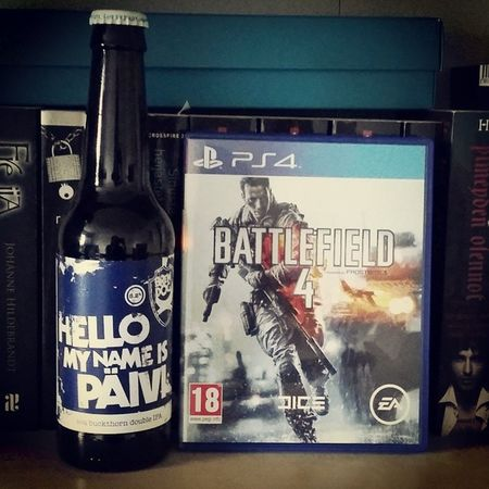 Happy nameday to me :) Nameday Beer Battlefield4 PS4 Games Gaming Monday