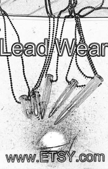 Etsy.com/LeadWear. The place where you can buy bullet chains/necklaces! Makes a great gift to gun fans and anyone who likes bullets.
